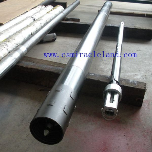 PQ wireline double tube core barrel