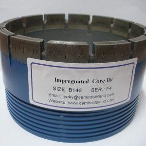 B146 impregated diamond core bit