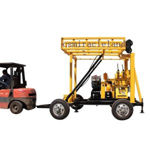 YZJ-200YY Trailer Mounted Portable Drilling Rig