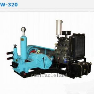 BW-320 Multi-Purpose Horizontal Triplex Piston Mud Pump