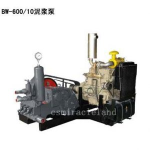 BW-600/10 Triplex Piston Mud Pump