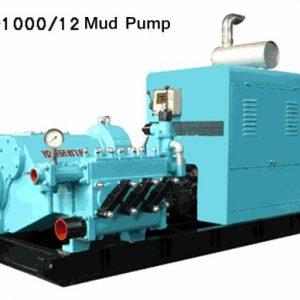 BW-1000/12 High Pressure Triplex Mud Pump